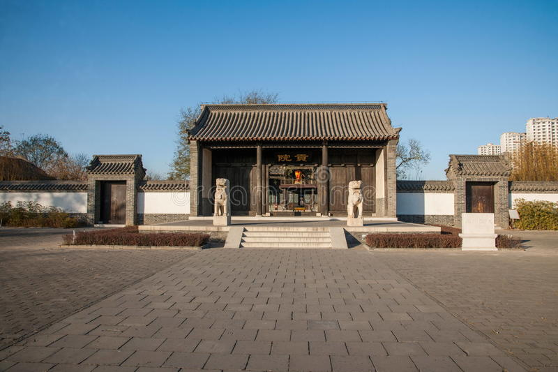 Провинция Dingzhou, Хэбэя, юань гонга стоковая фотография rf