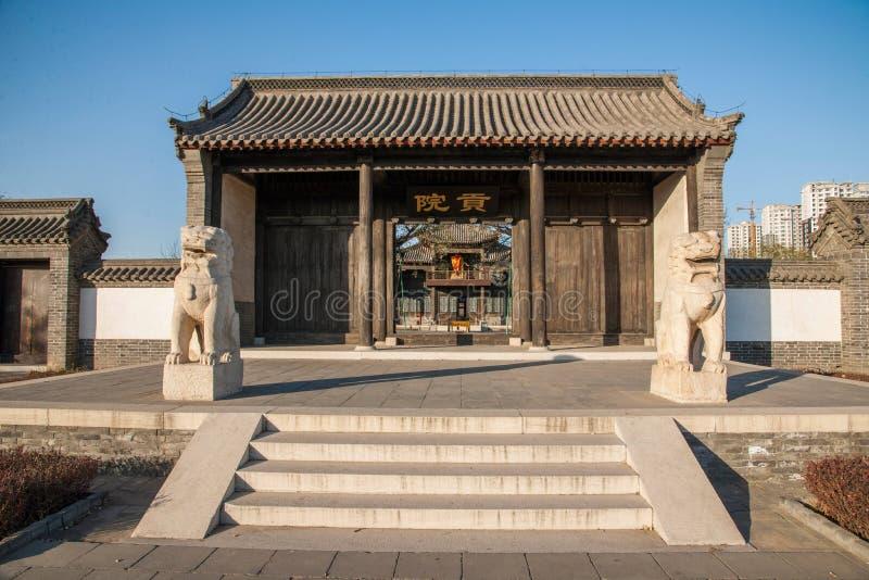 Провинция Dingzhou, Хэбэя, юань гонга стоковые изображения