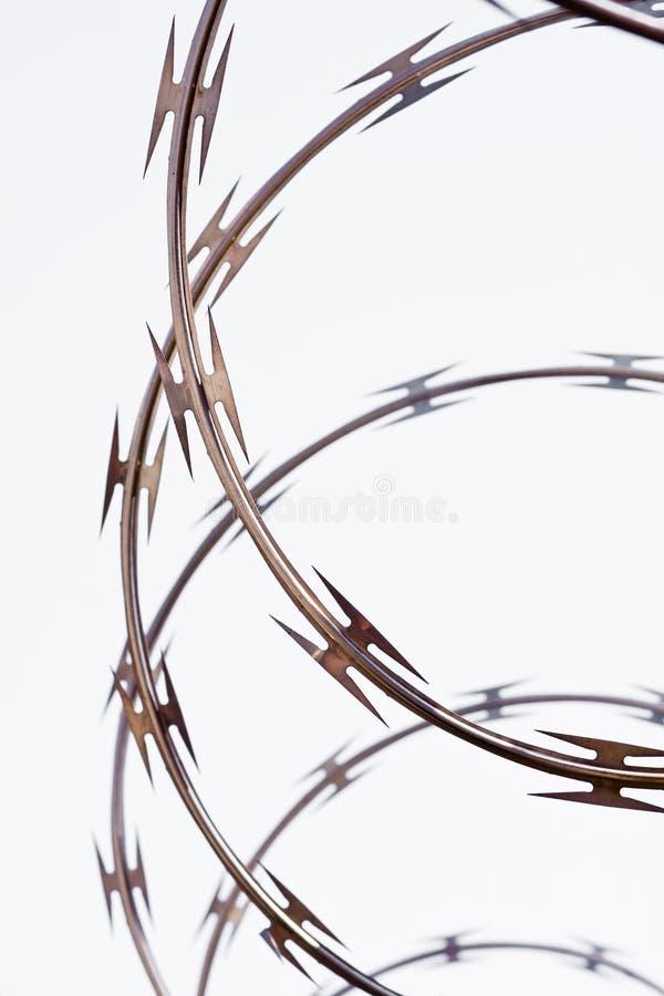 провод колючки стоковое фото rf