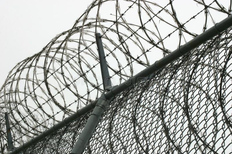 провод тюрьмы стоковые фото