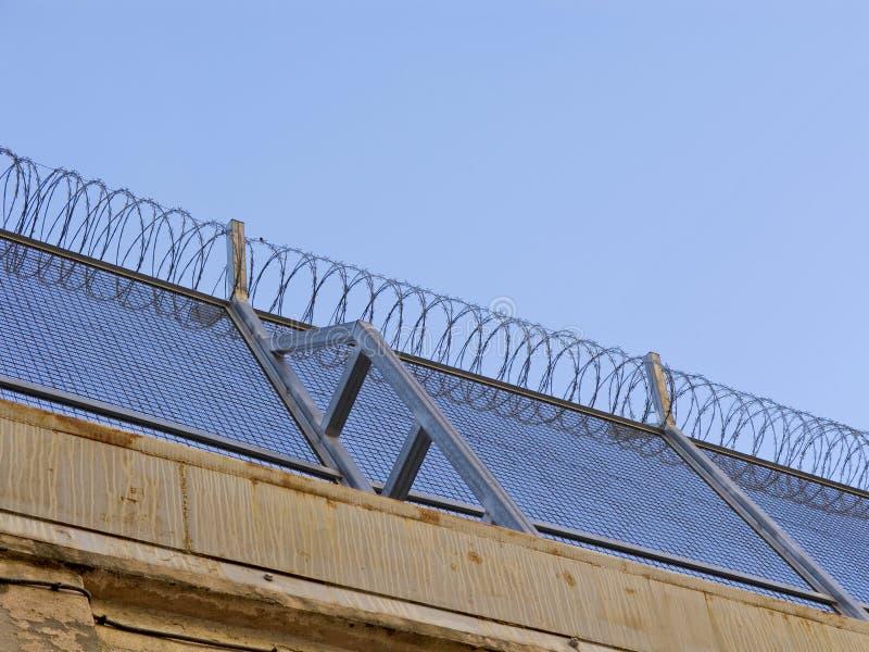 провод warb тюрьмы стоковые изображения