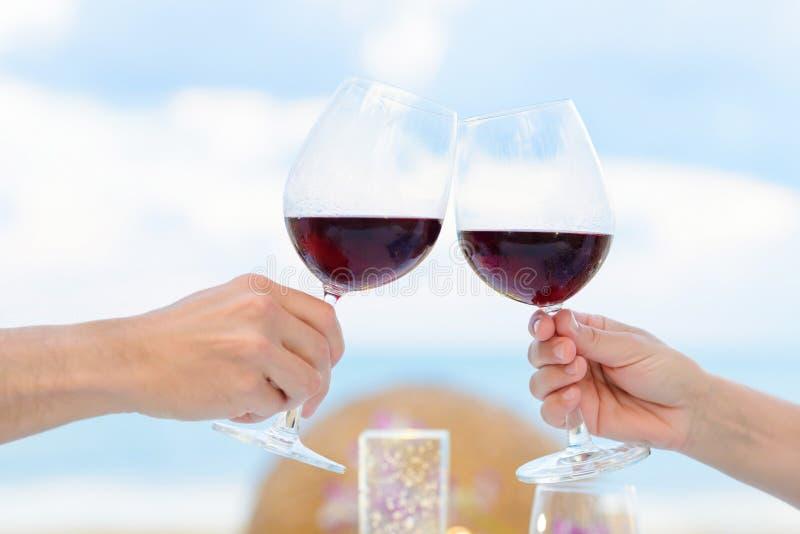 Провозглашать вина стоковая фотография rf