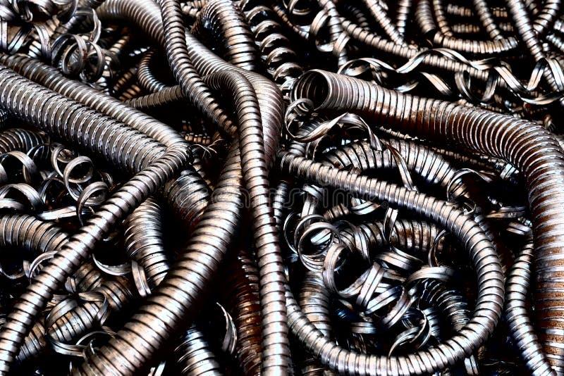 Проводник гибкого металла стоковые изображения