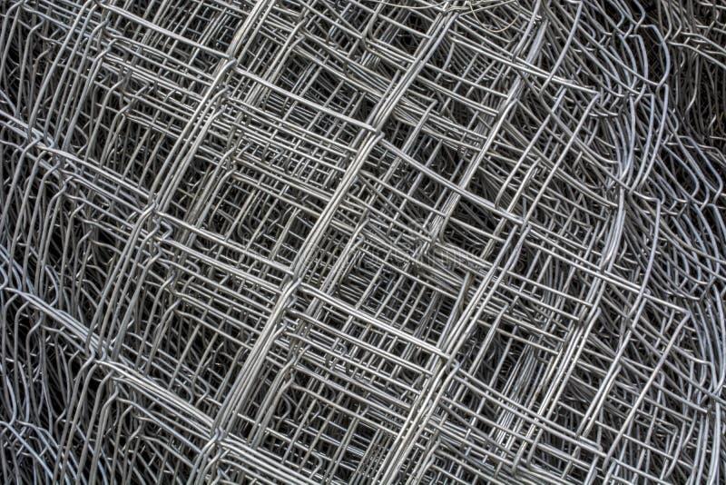 Проволочная изгородь металла стоковое изображение rf