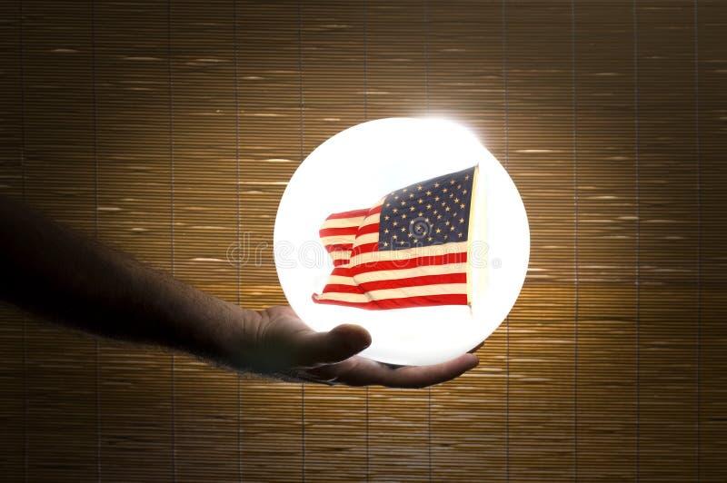 Прогнозы делают Америку большой снова стоковое изображение rf
