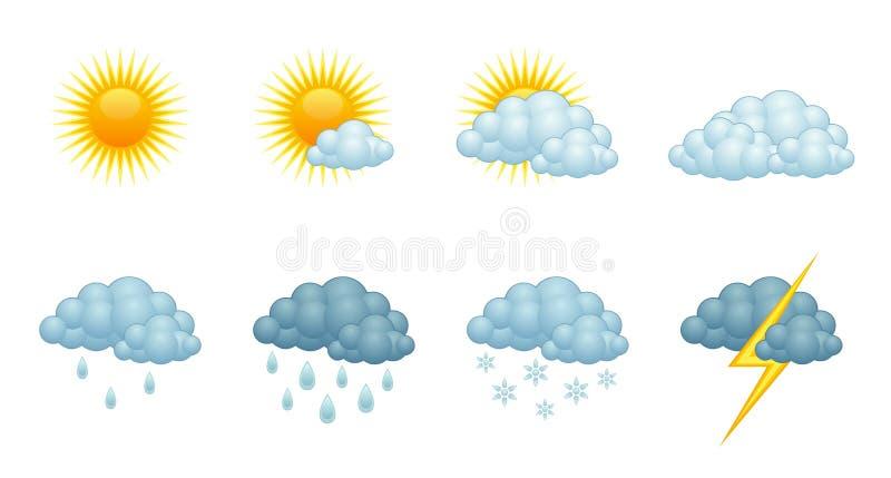 Прогноз погоды бесплатная иллюстрация