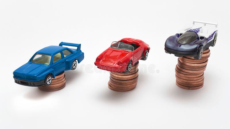 прогрессирование автомобиля стоковая фотография rf