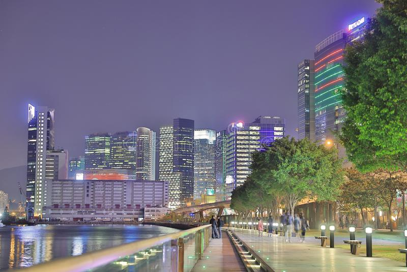 прогулка схвата Kwun, Гонконг 2018 стоковая фотография