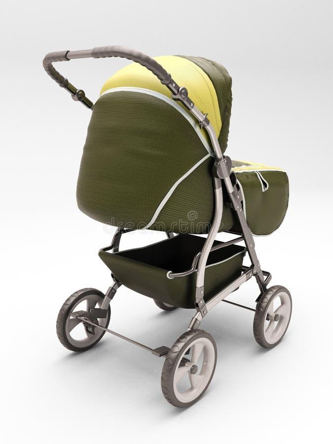 Прогулочная коляска для младенца стоковое фото rf