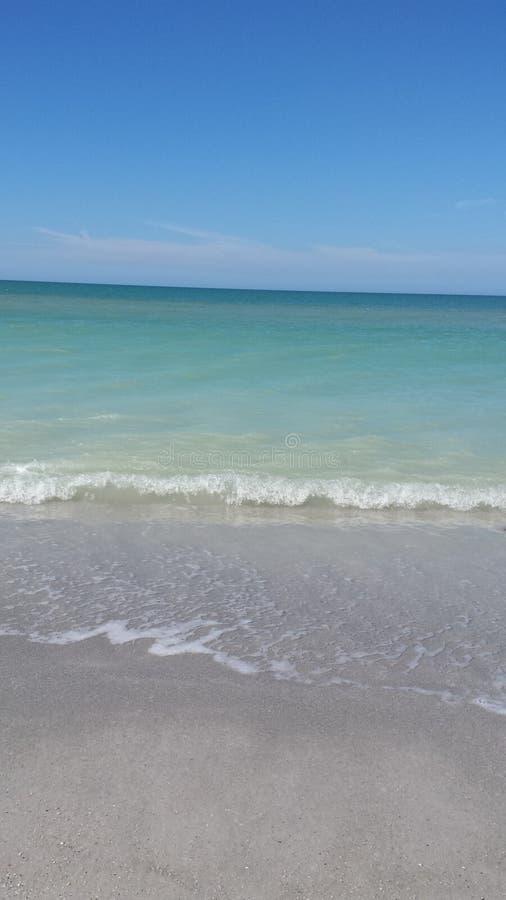 Прогулка на индийском пляже утеса стоковое изображение rf