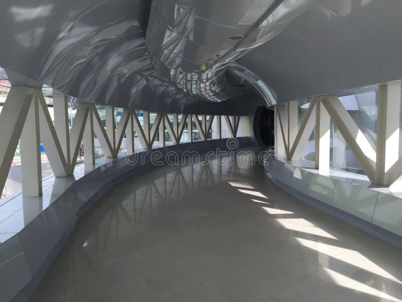 Прогулка неба с формой кривой стоковые фото