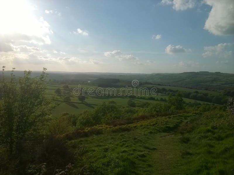 прогулка сельской местности стоковое изображение rf