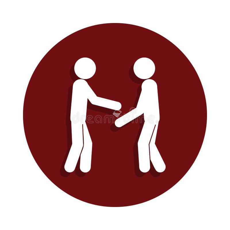 продажа значка лекарств в стиле значка глифа Одно плохого значка собрания habbits можно использовать для UI/UX иллюстрация вектора