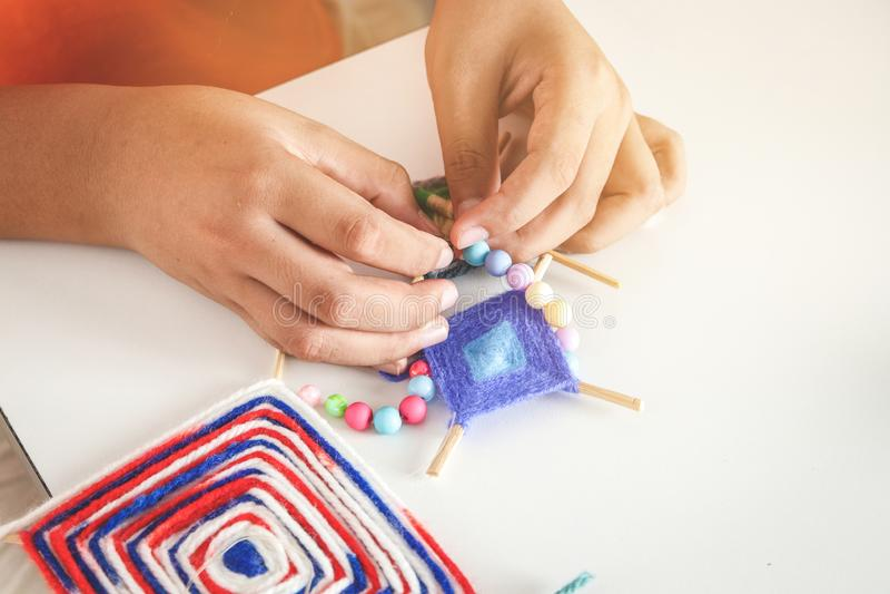 Продукты детей ручной работы стоковые изображения rf