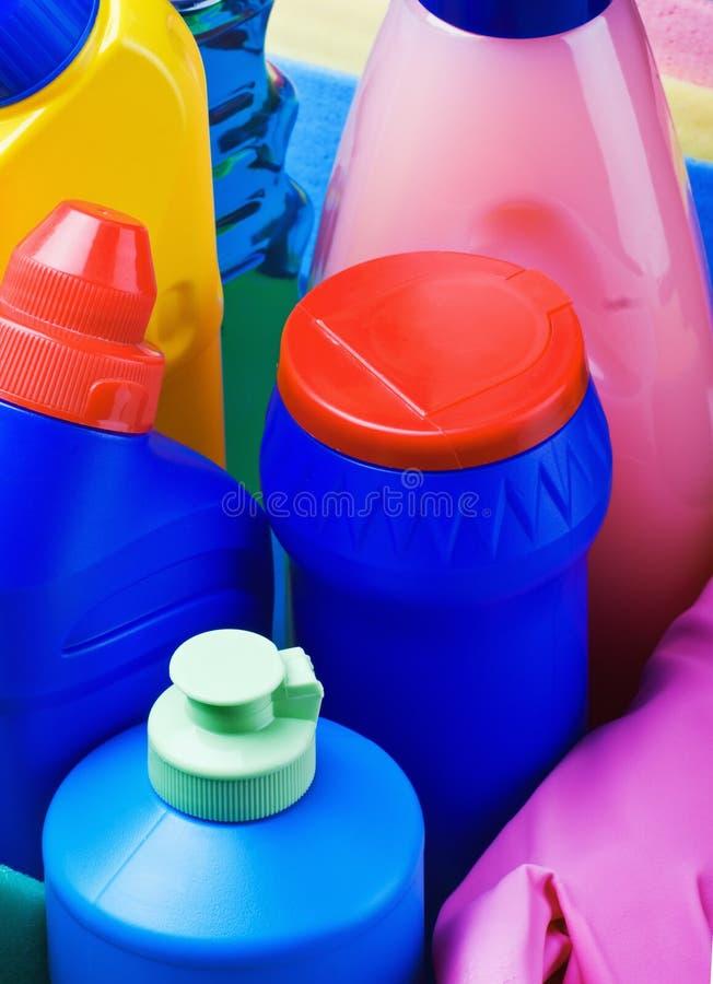 продукты для чистки стоковое фото rf