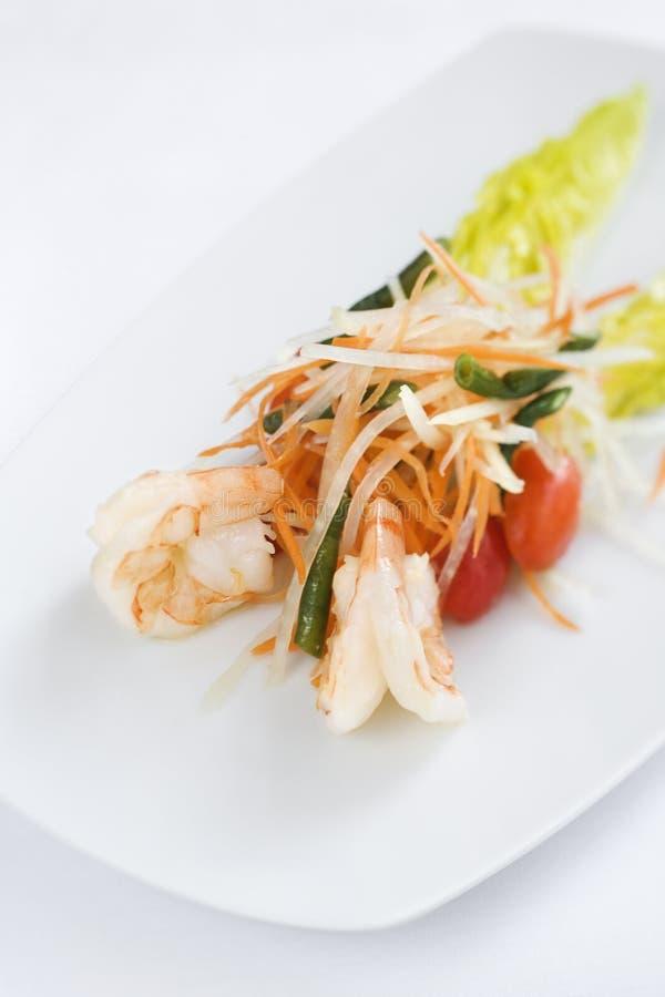 продукты моря лакомки тарелки стоковое изображение