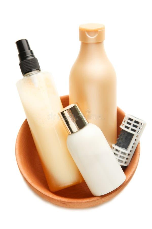 Продукты ухода за волосами стоковая фотография rf