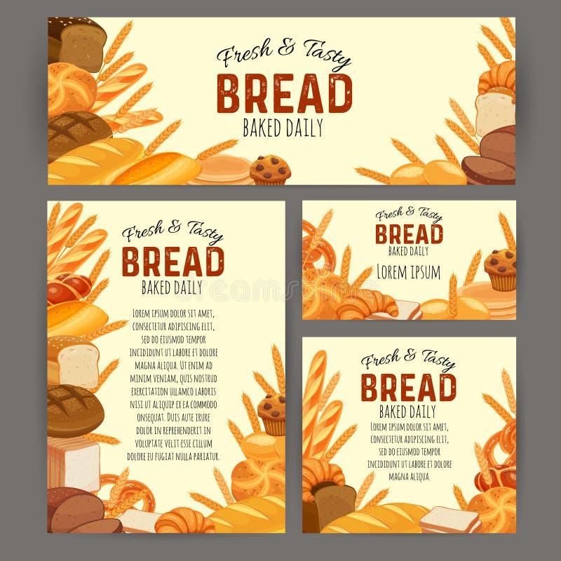 Продукты хлеба бесплатная иллюстрация