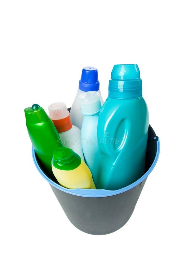 продукты чистки стоковое изображение rf