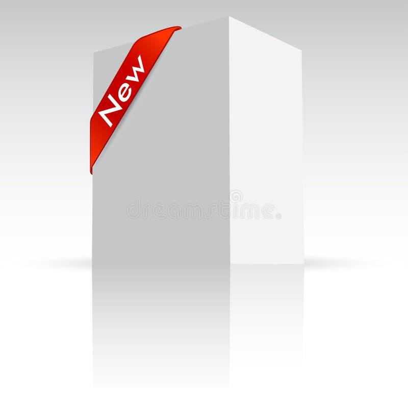продукт коробки иллюстрация вектора