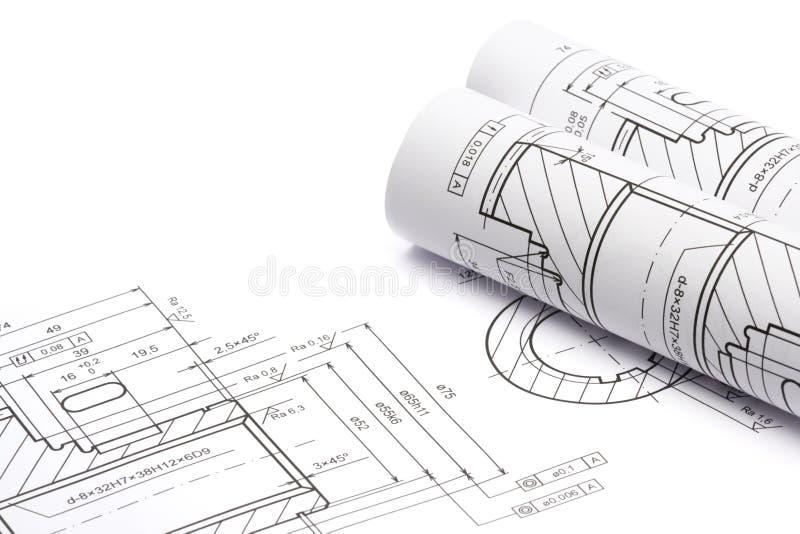 проектировать светокопий стоковое изображение rf