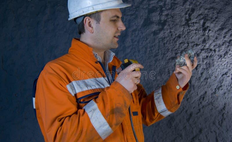 проектируйте проверять минерал стоковая фотография