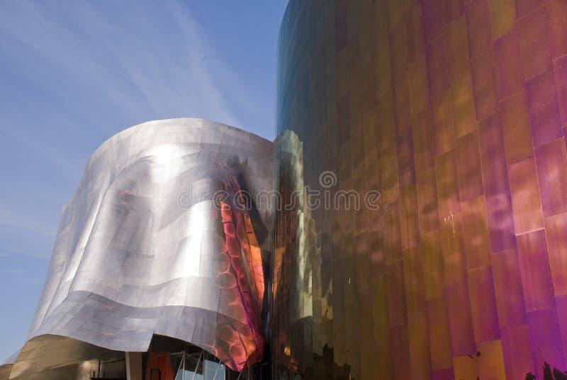 Проект музыки опыта на Сиэтл - 1 стоковая фотография