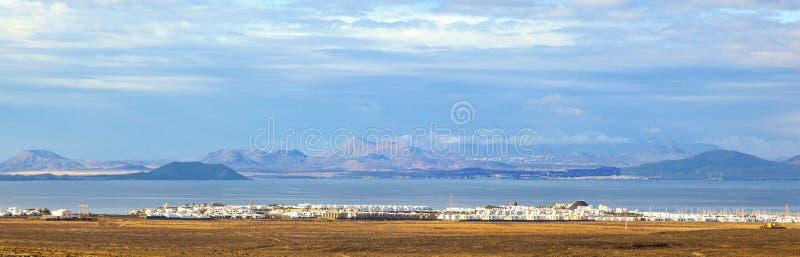 Проект урбанизации в Blanca Playa стоковые фотографии rf