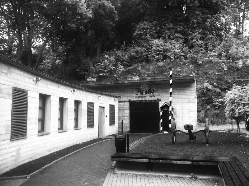 Проект Arado в Kamienna Gora Польше стоковая фотография rf