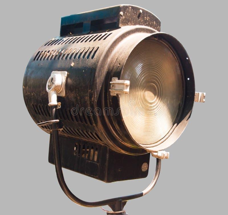 Прожектор для театральных сцен стоковая фотография