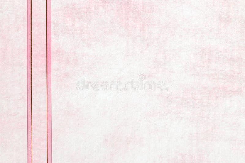 Прозрачная предпосылка розовой бумаги шелковицы стоковое фото rf