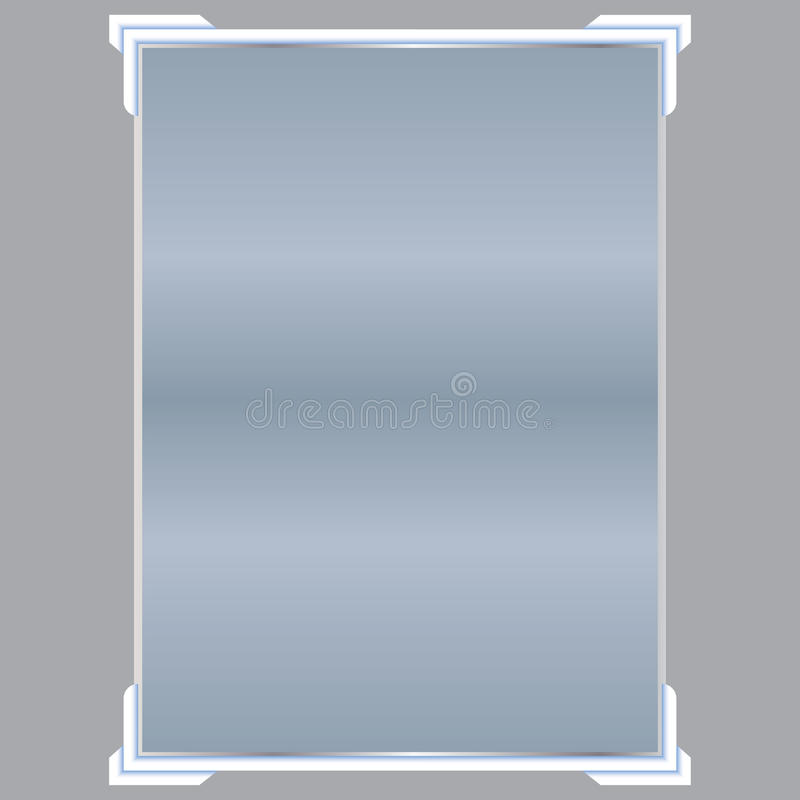 Прозрачные изолированные знамена также вектор иллюстрации притяжки corel бесплатная иллюстрация