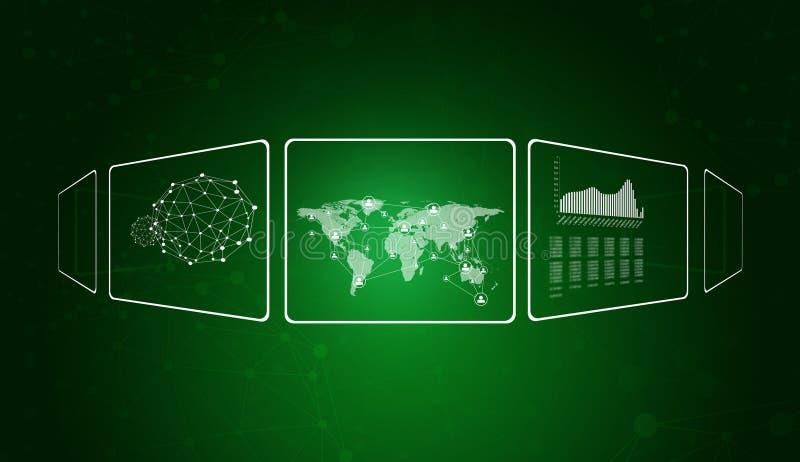 Прозрачные прямоугольники, сеть, провод-рамка стоковое фото