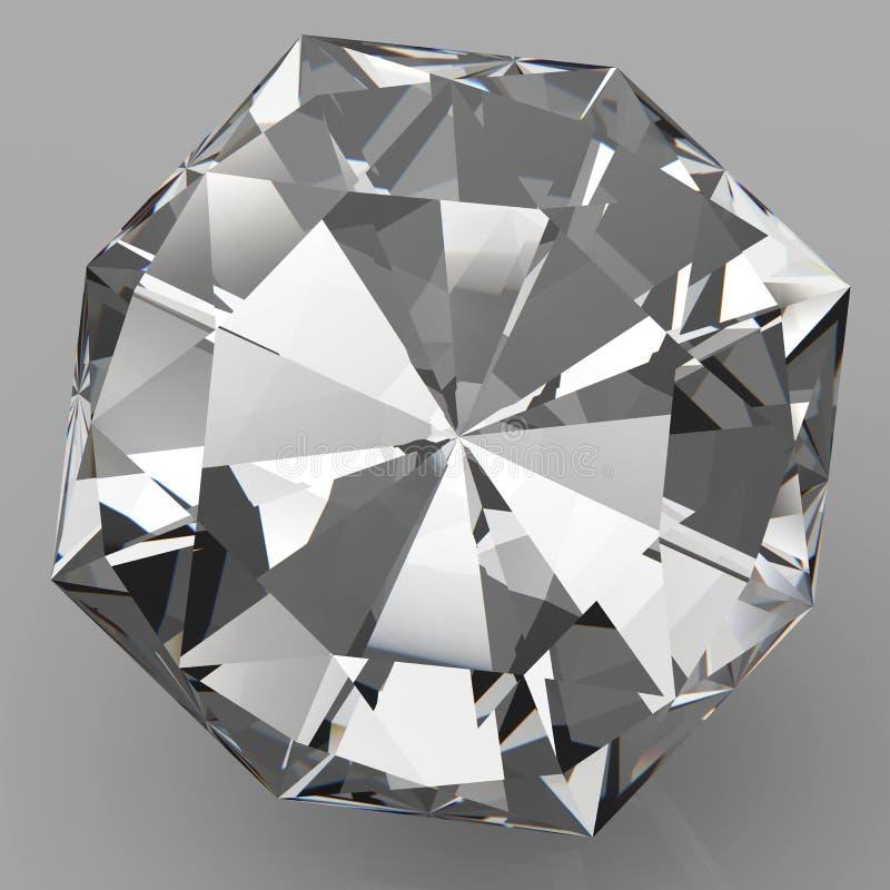 Прозрачный взгляд плана кристалла стоковая фотография