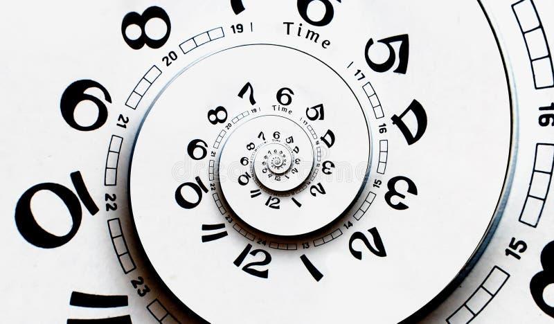 Произведенная цифров переплетенная сторона часов. стоковые фотографии rf