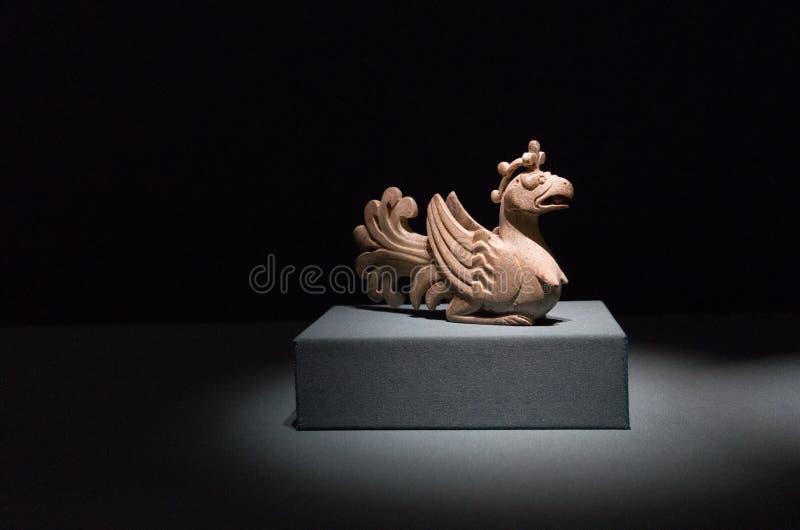 Произведение искусства, династия тяни стоковые фотографии rf