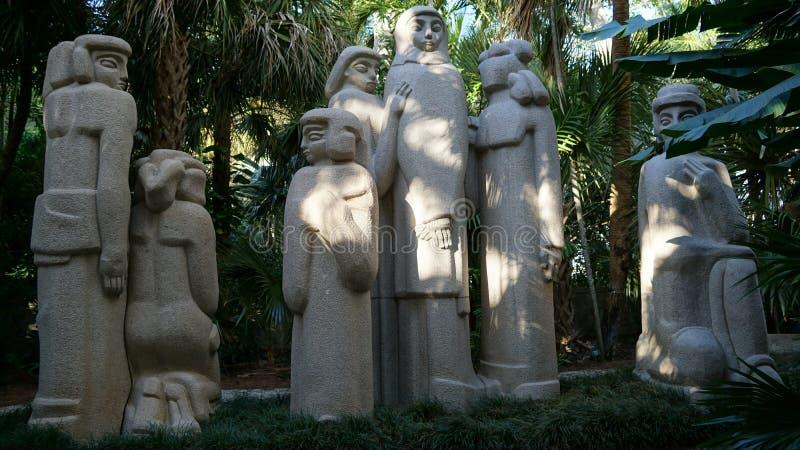 Произведения искусства садов скульптуры Энн Norton, West Palm Beach, Флорида стоковое фото