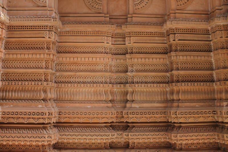 Произведенные стены - Индия стоковое фото