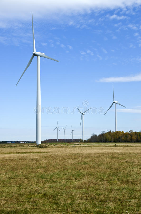 производить ветрянки силы стоковое фото rf