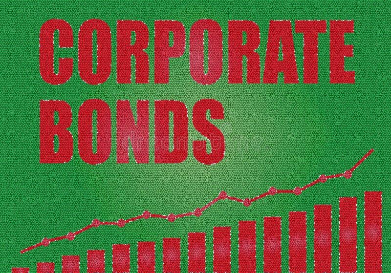 Проинвестируйте в промышленных облигациях иллюстрация вектора