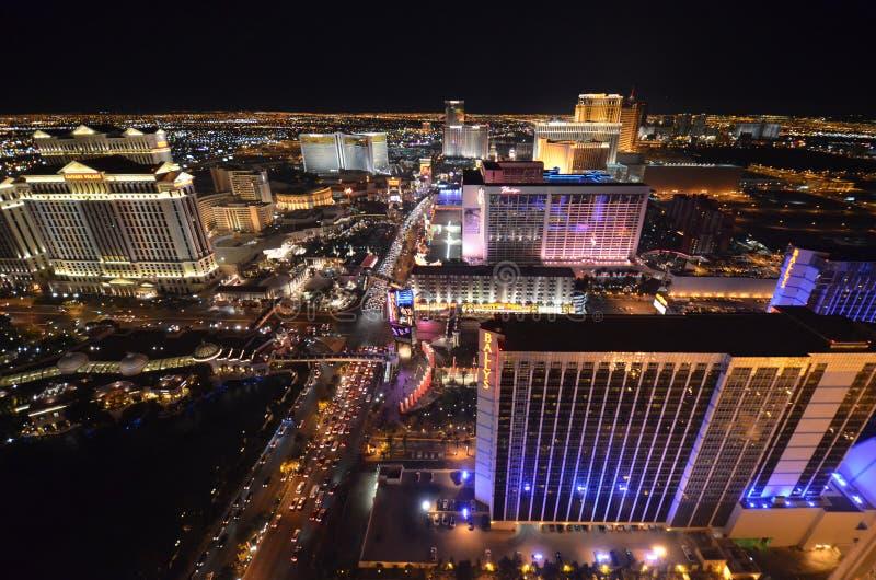 Прокладка, гостиница Bellagio и казино, район метрополитена, метрополия, географическая характеристика, ноча стоковое фото rf