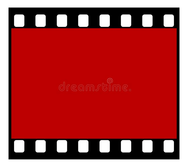 Прокладка фильма стоковая фотография rf