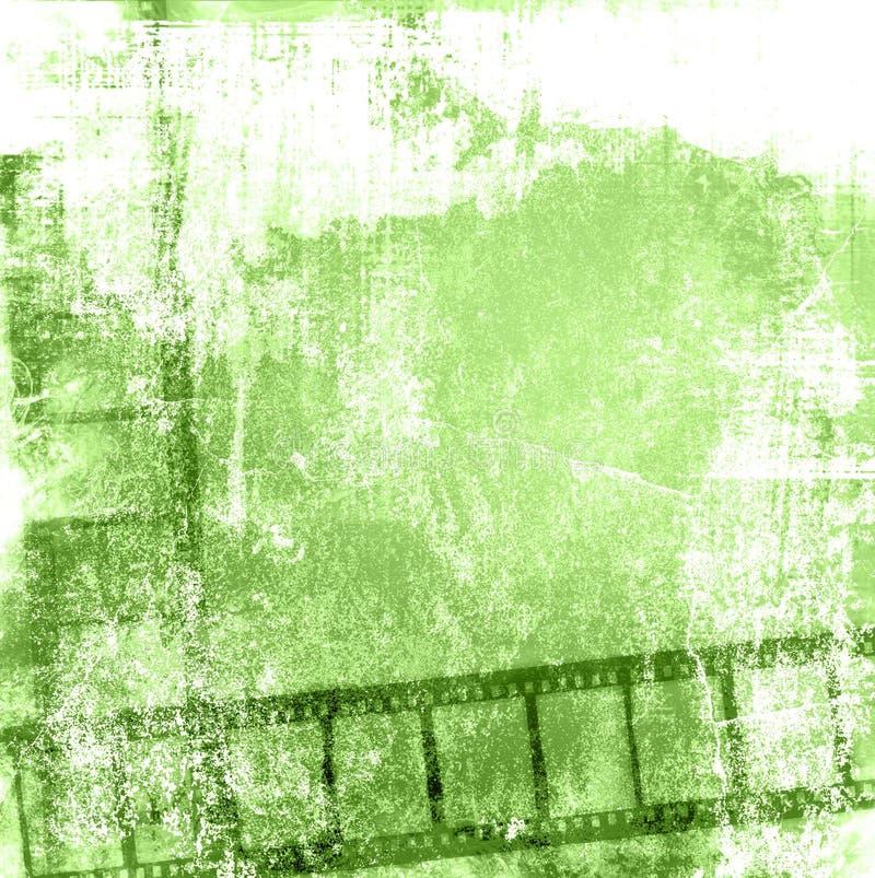 прокладка grunge пленки предпосылок иллюстрация вектора