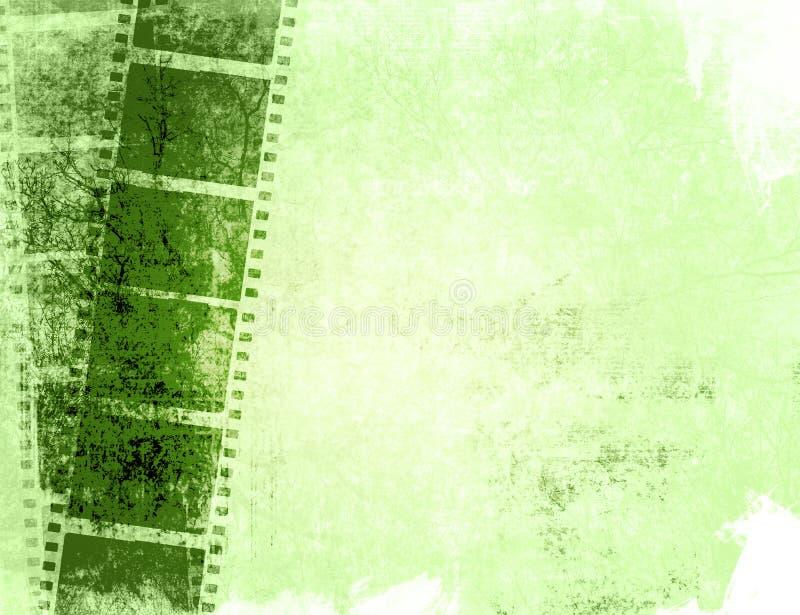 прокладка grunge пленки предпосылок иллюстрация штока