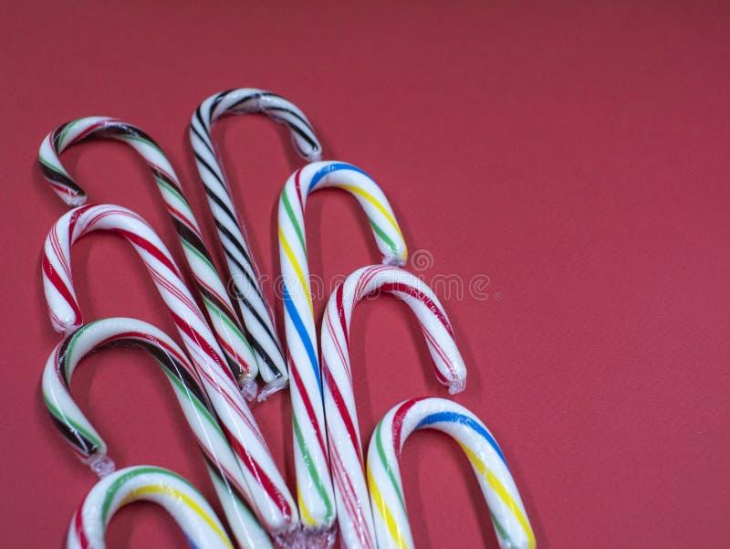 Прокладки сирени установленной красочной тросточки карамельки голуб стоковые фотографии rf