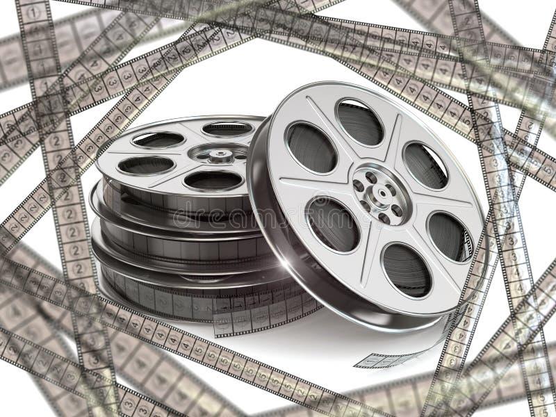 Прокладки вьюрков фильма и фильма кино бесплатная иллюстрация