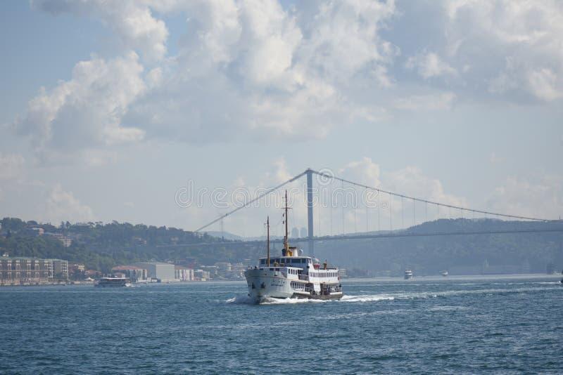 пролив istanbul bosphorus стоковая фотография