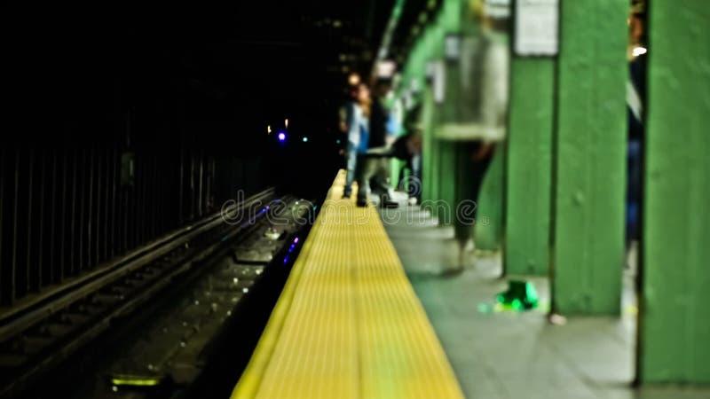 Промежуток времени метро NYC видеоматериал
