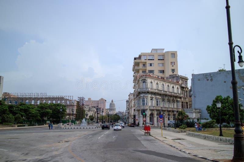Променад в Гаване стоковая фотография