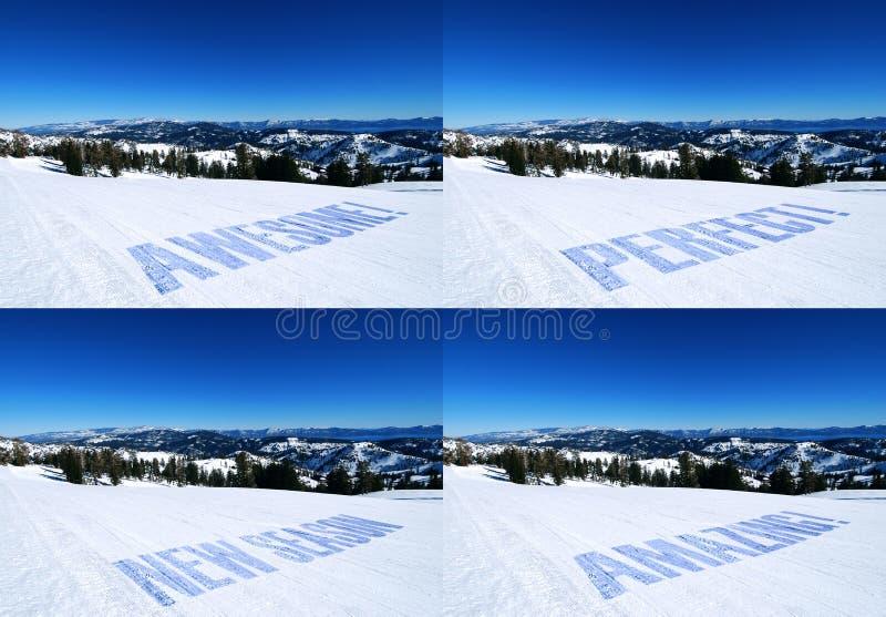 промотирование резвится зима стоковые фото